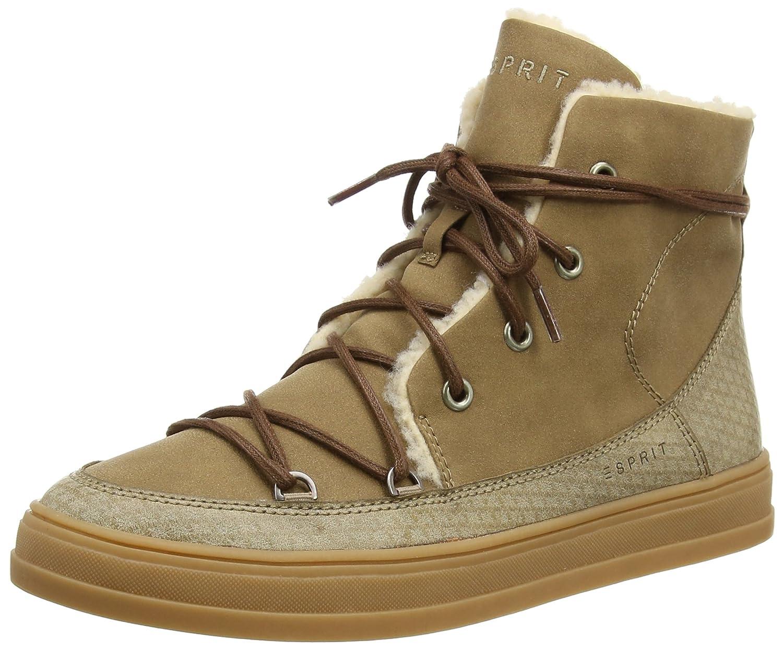 ESPRIT Sidney Damen (241 Hohe Sneakers Beige (241 Damen Taupe 2) 489527