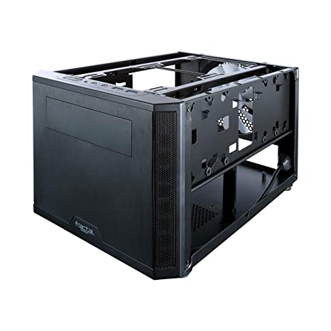 Fractal Design Core 500 Negro Carcasa de Ordenador - Caja de Ordenador (PC, Mini-DTX, Mini-ITX, Negro, 19,5 L, 17 cm, 31 cm)