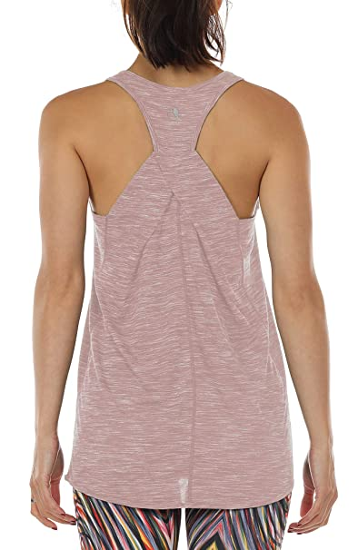 efd38158ada8f1 icyzone Workout Tank Shirts for Women - Athletic Exercise Yoga Gym Tops