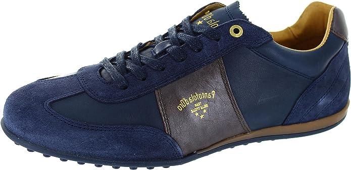 Pantofola d'Oro Rotella Uomo Low, Baskets Mode pour Homme Bleu Bleu - Bleu - Bleu, 45.5
