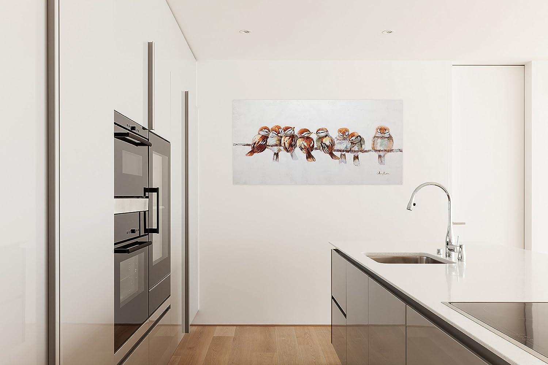 Amazon.de: KunstLoft® Acryl Gemälde \'Happy Family Reunion\' 120x60cm ...