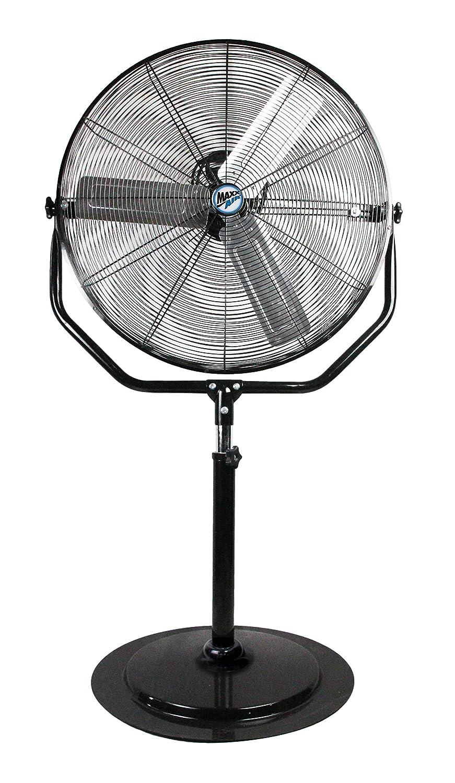 Maxx Air Industrial Pedestal Fan Heavy Duty 30 Stand Fan, 4800 CFM