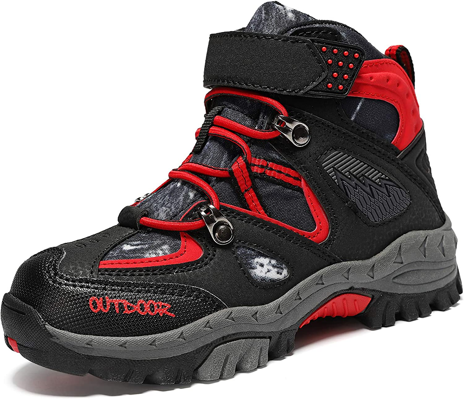 Amazon.com | VITUOFLY Boys Hiking Boots Kids Hiking Shoes Girls Outdoor  Warm Winter Snow Boots Adventure Trekking Shoes Anti-Skid Sneakers Steel  Buckle Durable Comfortable | Hiking Boots