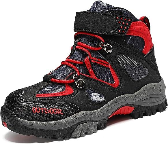 JMFCHI Kids Hiking Boots Boys Girls