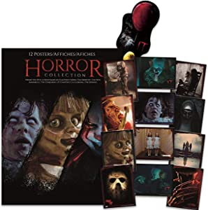 Warner Brothers Horror Room Poster Bundle ~ 12 Horror Room Decor Posters Horror Posters For Walls Featuring Pennywise, The Shining, Jason, And More Plus Bonus Bookmark!