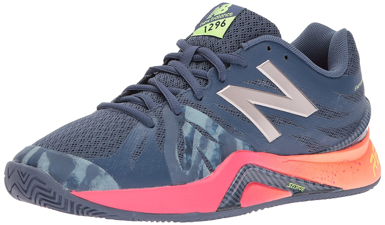 size 40 88c28 8c8eb Amazon.com   New Balance Women s 1296v2 Tennis Shoe   Tennis   Racquet  Sports