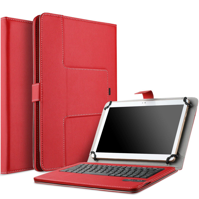 IVSO Lenovo Yoga Tab 3 Plus Bluetooth Keyboard Portfolio Case - DETACHABLE Bluetooth Keyboard Stand Case/Cover for Lenovo Yoga Tab 3 10 Plus 2016 10.1 inch Tablet (Tablet PC NOT Included, Black)