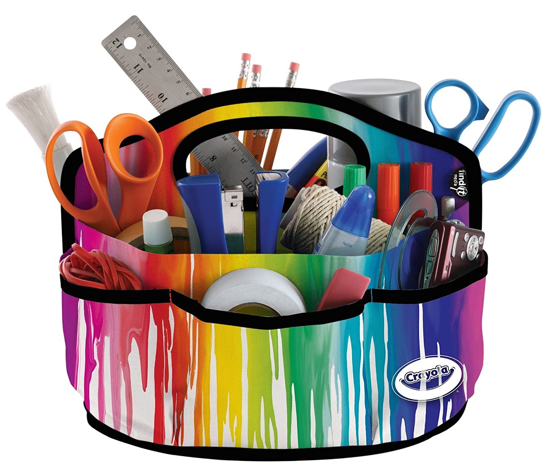 Crayola 6-pocket Supply Caddy - from Find-It