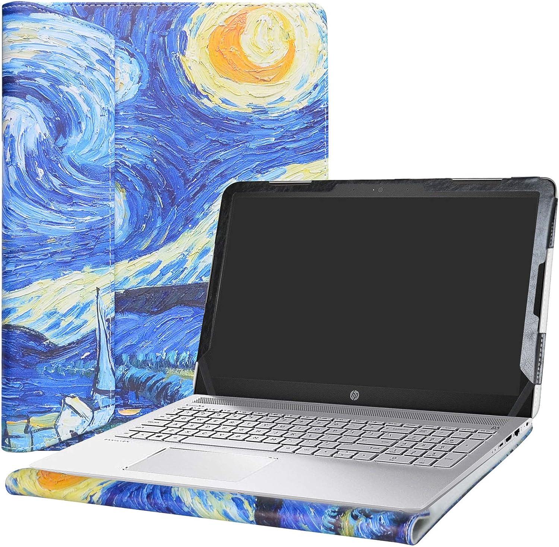 """Alapmk Protective Case Cover for 15.6"""" HP Pavilion 15 15-auXXX (15-au000 to 15-au999,Such as 15-au123cl) Laptop(Warning:Not fit Pavilion 15 15-abXXX/15-ccXXX/15-csXXX/15-bcXXX Series),Starry Night"""