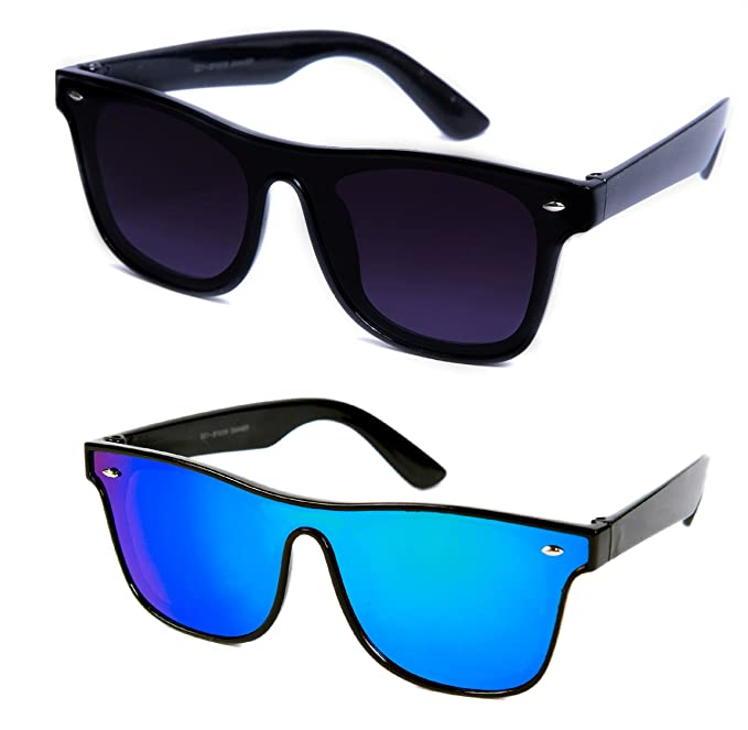 ab2300536 Image Unavailable. Image not available for. Colour: THEWHOOP UV Protected  Wayfarer Unisex Sunglasses ...