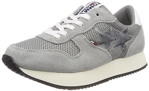 Tommy Jeans Star Sneaker, Zapatillas para Mujer: Amazon.es: Zapatos y complementos
