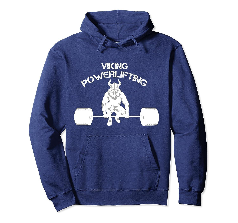 Viking Bodybuilding Fitness Powerlifting Hoodie-Awarplus