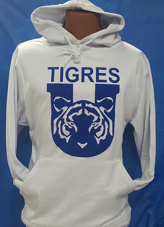 新しい。Club Deportivo TigresホワイトパーカーLiga MX。サイズXL。 B079HM1DLW