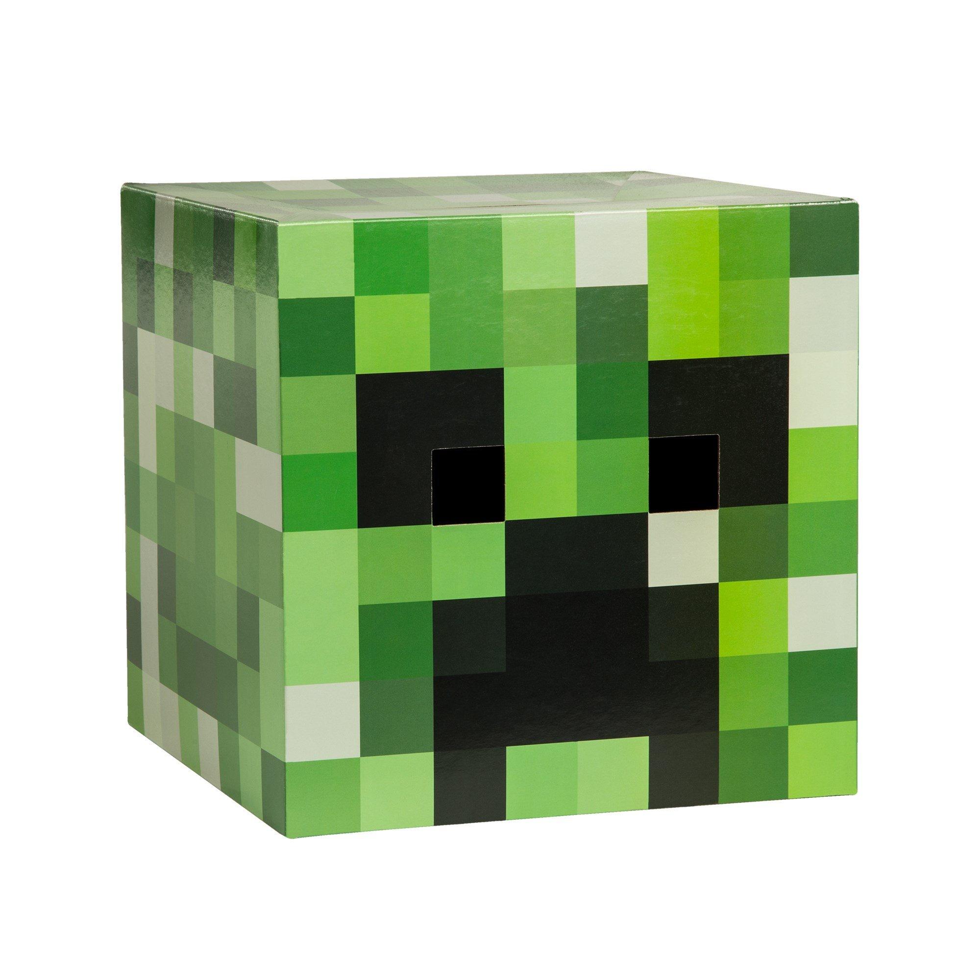JINX Minecraft Creeper Head Costume Mask