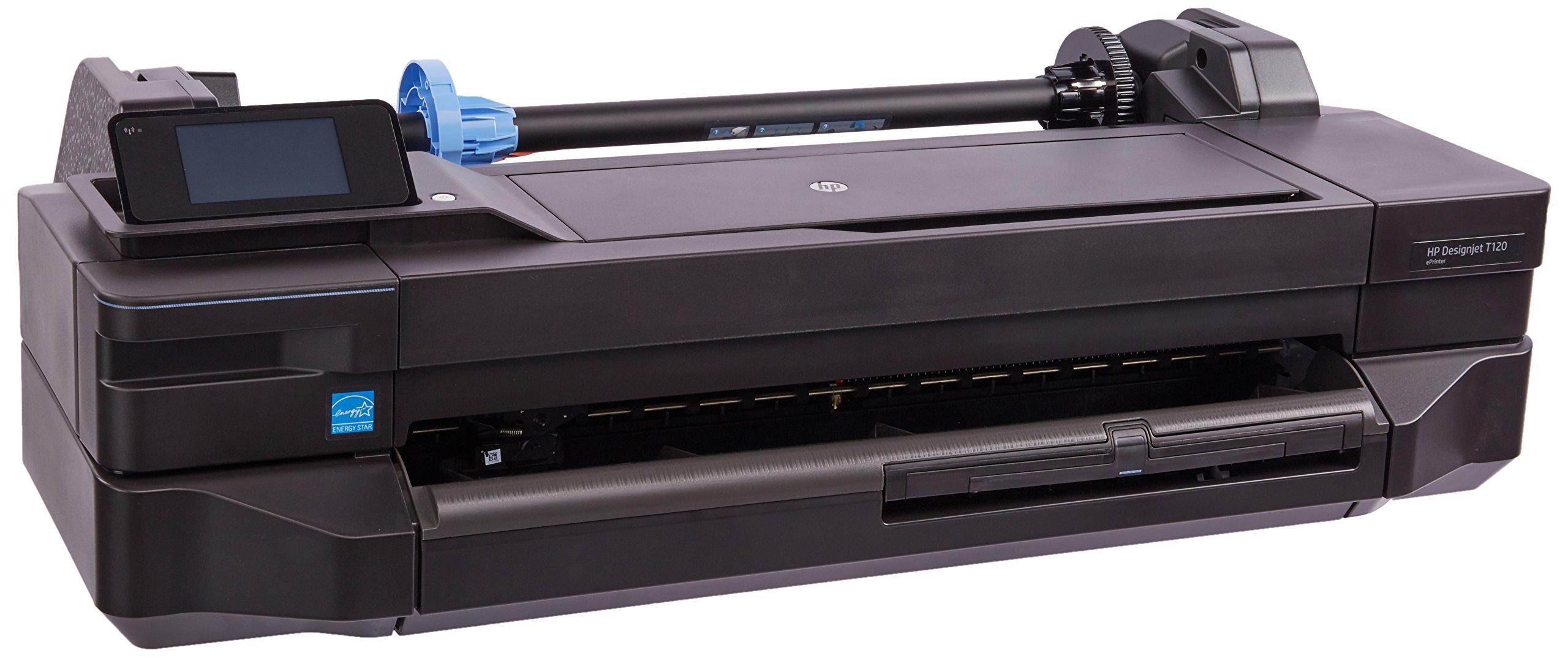 2PX9507 - HP Designjet T120 Inkjet Large Format Printer - 24quot; - Color by HP