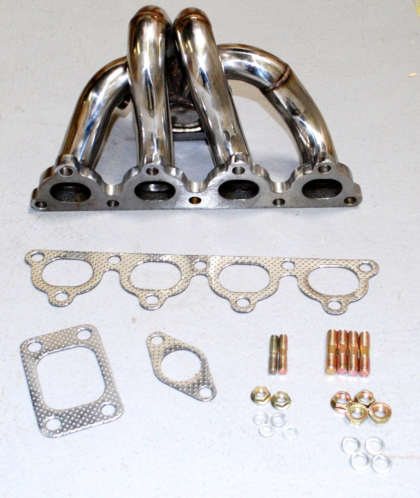 Tubular Turbo Manifold Stainless Steel fits88-91 Honda CRX /88-00 Civic D15/D16 by emusa (Image #7)
