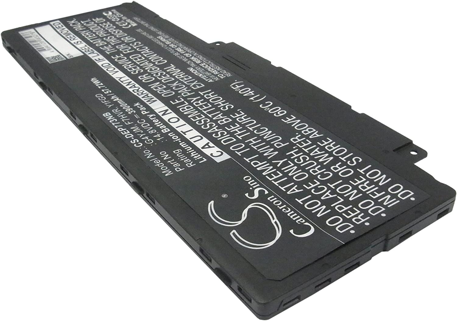 GAXI Battery for DELL Inspiron 15 7537, Inspiron 15-7537 P36F, Inspiron 7737 Replacement for P/N 062VNH, F7HVR, G4YJM