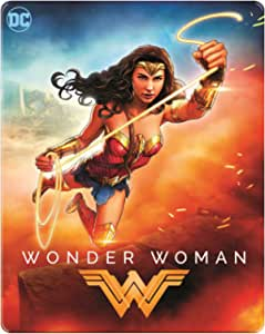 Wonder Woman Steelbook 2017 illustrated Limited Edition Steelbook Region Free Blu Ray (import)