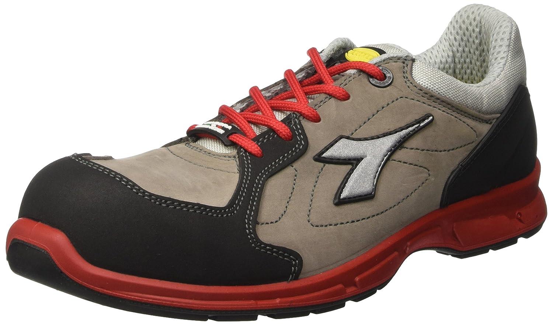 Diadora - Energy Boost 3, zapatos para correr Hombre, Blanco (Grigio/rosso), 47 EU: Amazon.es: Amazon.es