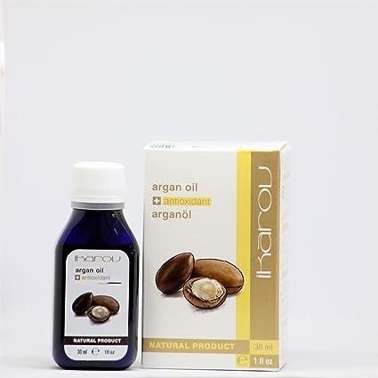 Aceite para tuerca de argán 100% puro con vitamina E + antioxidante, 30 ml