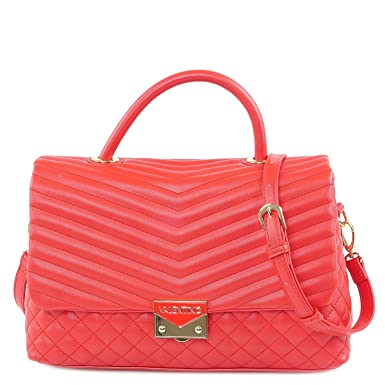 Mujer De Asas Rojo Cuero Sintético Valentino Para Bolso 6ybgY7f