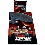 Herding 441708050 Bettwäsche Star Trek, Kopfkissenbezug: 80 x 80 cm und Bettbezug: 135 x 200 cm, 100 % Baumwolle, Renforce
