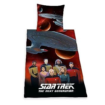Herding 441708050 Bettwäsche Star Trek Kopfkissenbezug 80 X 80 Cm