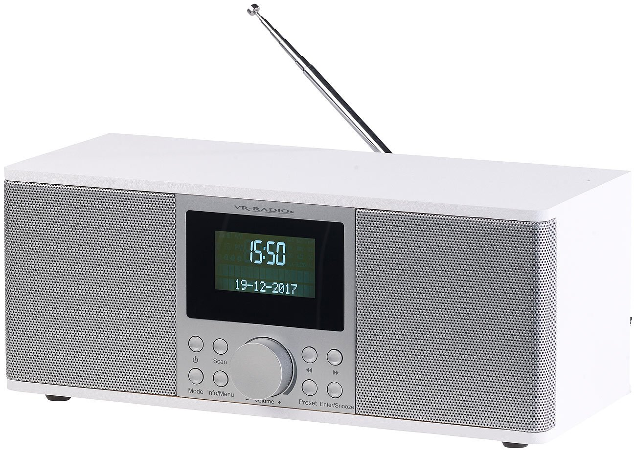 VR-Radio Radiowecker: Digitales DAB+: Amazon.de: Elektronik