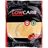 Low Carb Tortillas con Sabor a Tomate Ricas en Fibra y Proteínas - CarbZone - (