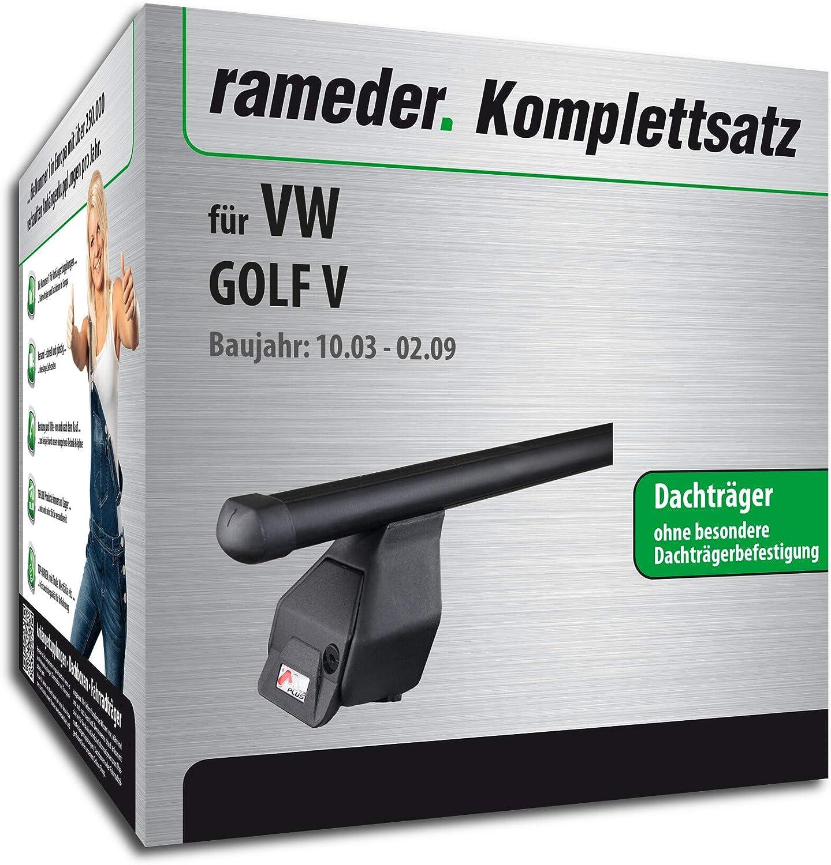Rameder Komplettsatz Dachträger Tema Für Vw Golf V 118832 04991 2 Auto