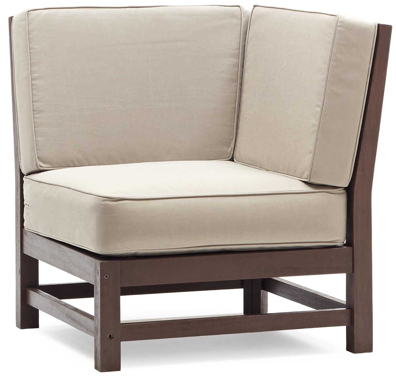 Amazon Strathwood Anderson Hardwood Sectional Corner Chair