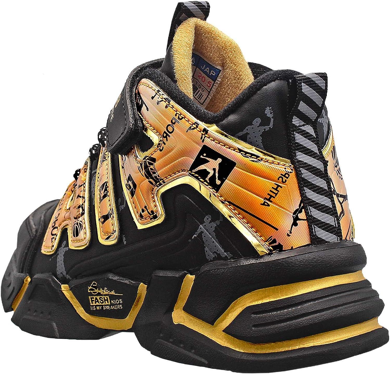Forro C/álido Zapatos de Gimnasia 28-39 KRONJ Zapatillas de Deporte de Alta para Ni/ños