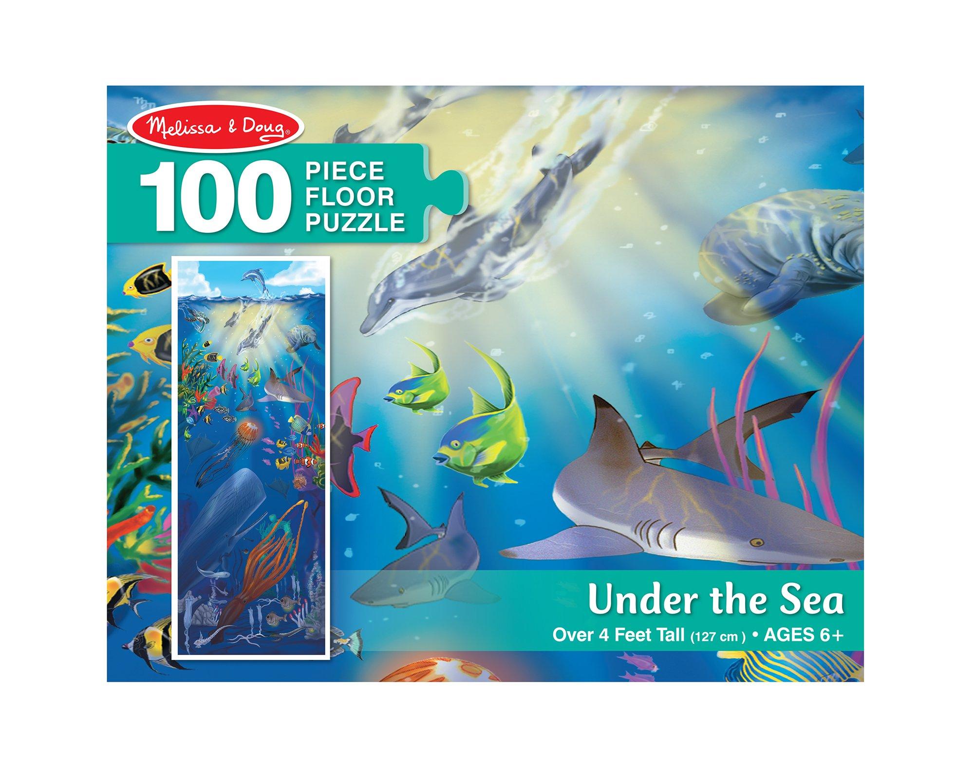 Melissa & Doug Under The Sea - 100 Piece Floor Puzzle