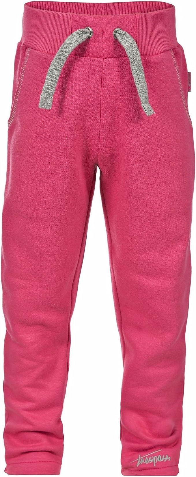 Trespass - Pantalones de chándal Modelo Danvers para niña (11/12 ...