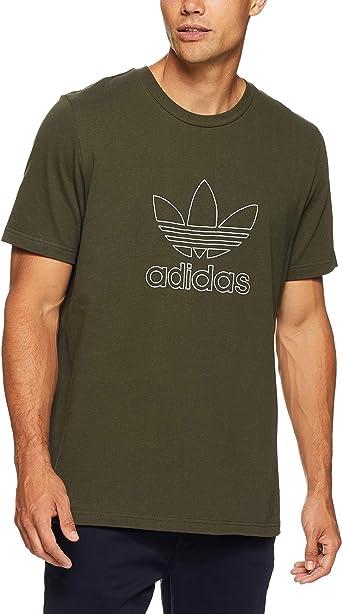 adidas Outline - Camiseta Hombre: Amazon.es: Ropa y accesorios