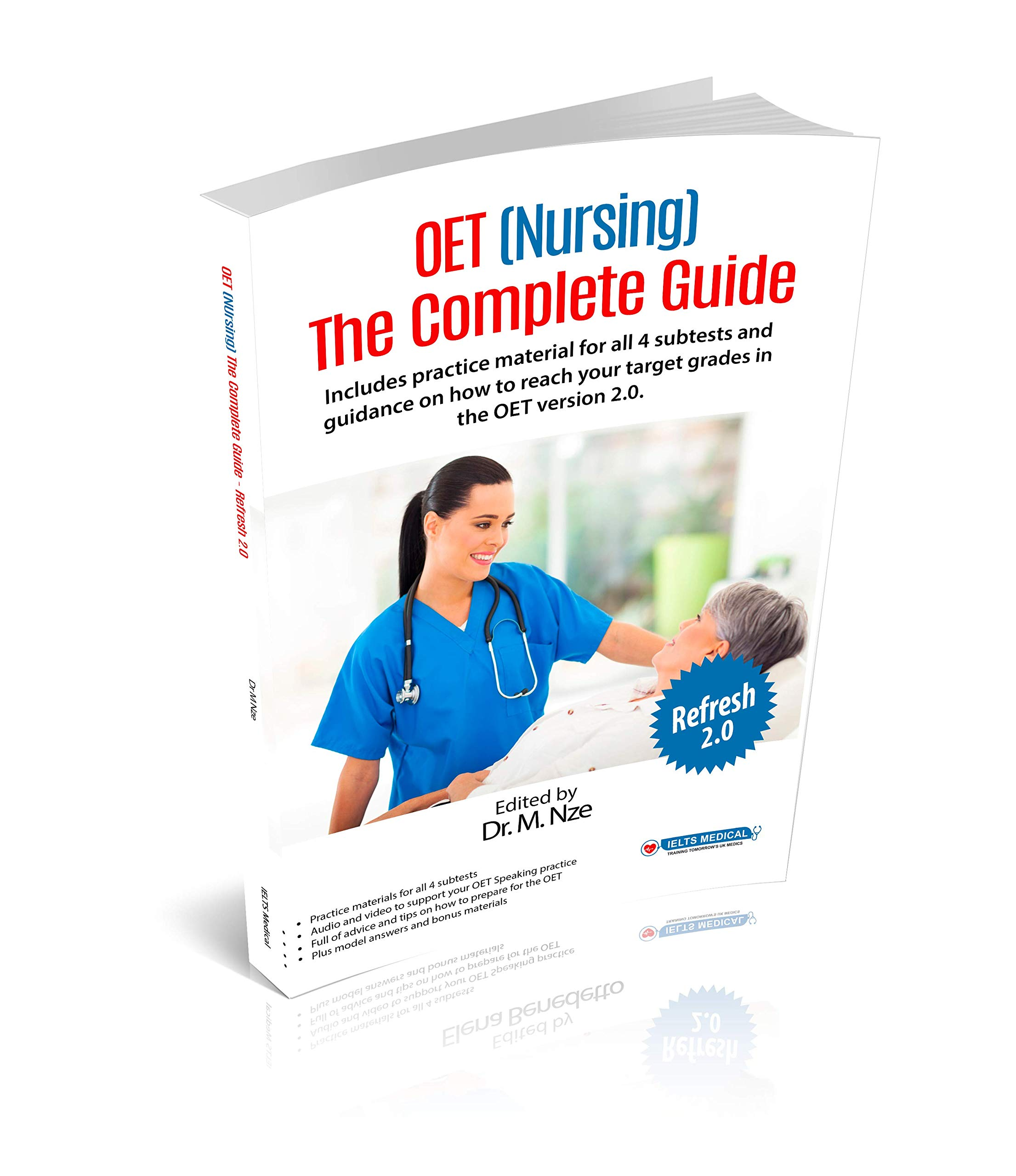 Buy OET (Nursing) The Complete Guide - Refresh 2.0 Complete Guide ...