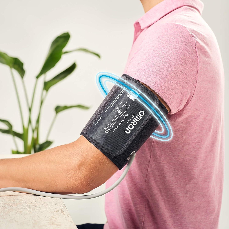 Omron X3 Comfort Home Blood Pressure Monitor Máquina de presión sanguínea para el control de la hipertensión en casa, aprobado por la protección de ...