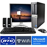Dell OptiPlex 960 SFF Desktop Core 2 Duo 2.9GHz Processor 4GB Ram 320GB Hard Drive Windows 10 Home 19in Monitor (Brands may vary), Keyboard, Mouse, Speakers, WiFi Adapter Computer Package