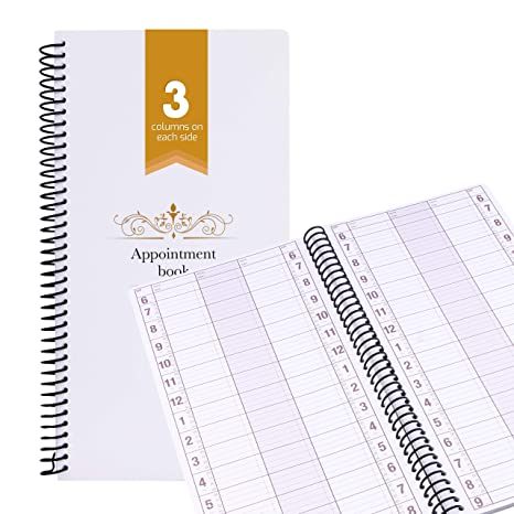 Amazon.com: Libro de citas sin fechas, planificador semanal ...