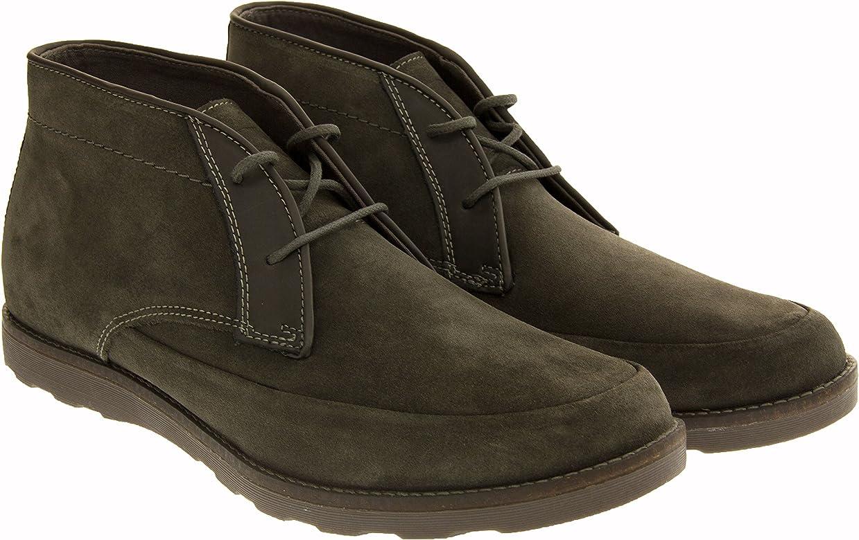 Zapatos para esclavo  Skechers Hombre Cuero Botines Desert: Amazon.es: Zapatos y complementos