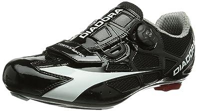 Diadora SPEED VORTEX, Unisex-Erwachsene Radsportschuhe - Rennrad, Weiß (weiß/schwarz 3510), 45 EU