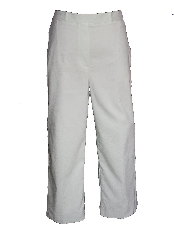 Alfred Dunner Isle Of Capri Flat Front Pants