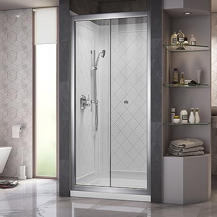 Dreamline Butterfly Frameless Bi Fold Shower Door 32 Inch By 32
