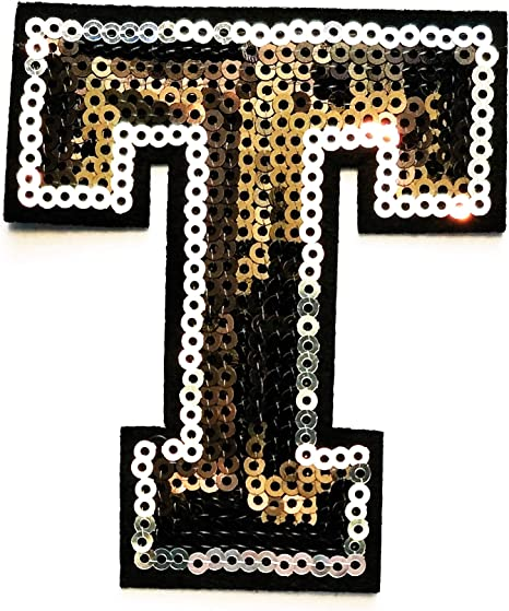 Parches bordados de letras del alfabeto ABC en inglés de la A a la ...
