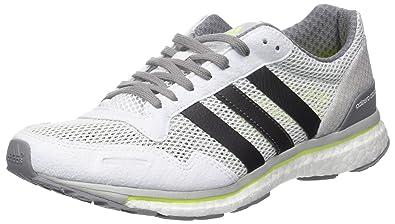 online retailer bdb64 012b3 adidas Mens Adizero Adios Competition Running Shoes, (Footwear WhiteTrace  Grey Metallic