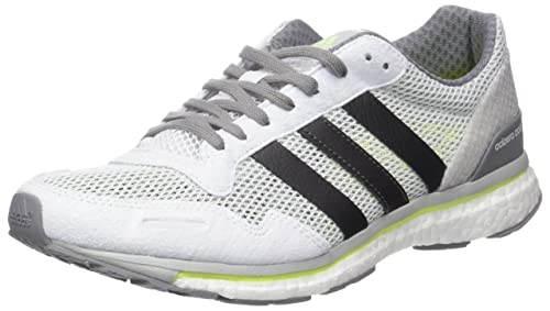 hot sales e0c71 d34b5 adidas Adizero Adios, Zapatillas de Running para Hombre, Blanco (Footwear  WhiteTrace Grey MetallicSolar Yellow), 49 13 EU Amazon.es Zapatos y ...