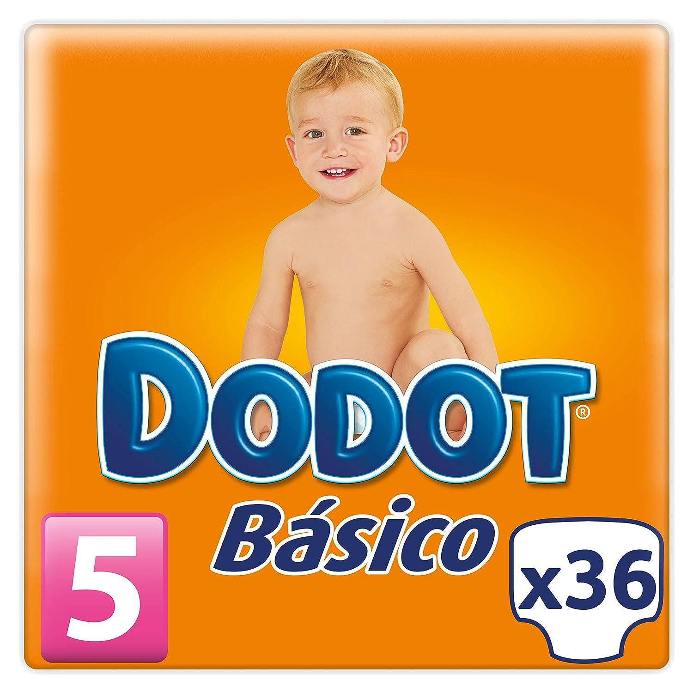 2fe9896e5232 Dodot - Pañales básicos - Talla 5 - 36 unidades: Amazon.es: Salud Comprar  Más info