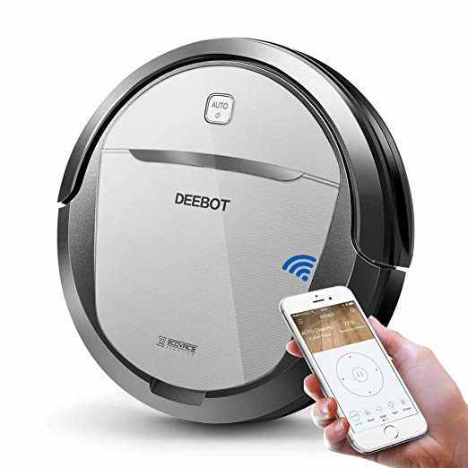 Best Robot Mop vacuum: ECOVACS DEEBOT M80 Pro Robot Vacuum Cleaner with Mop and Water Tank