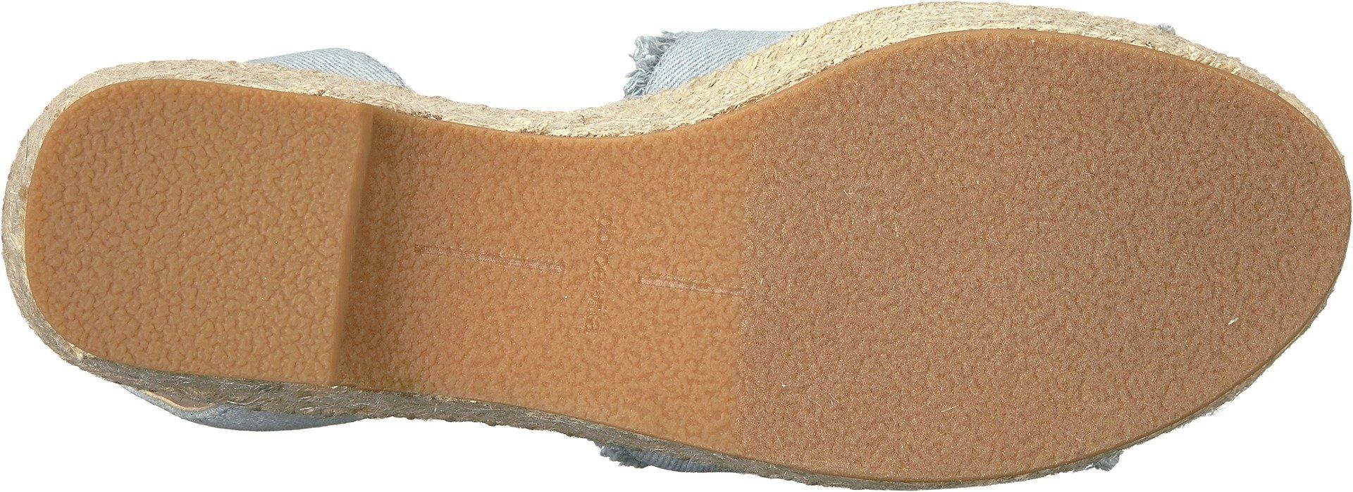 Dolce Vita Women's Lesly Espadrille Wedge Sandal, Light Blue Denim, 7.5 M US by Dolce Vita (Image #3)