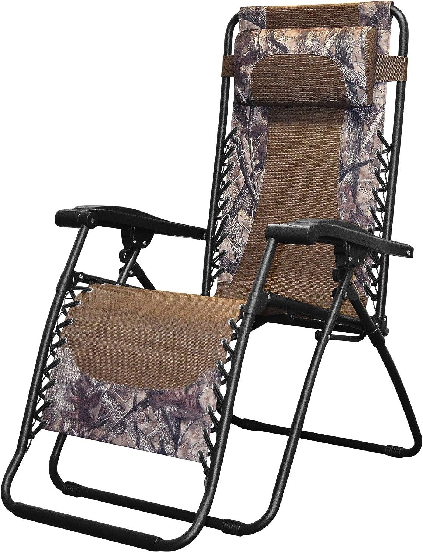 Caravan Canopy Sports Infinity Camouflage Zero Gravity Chair